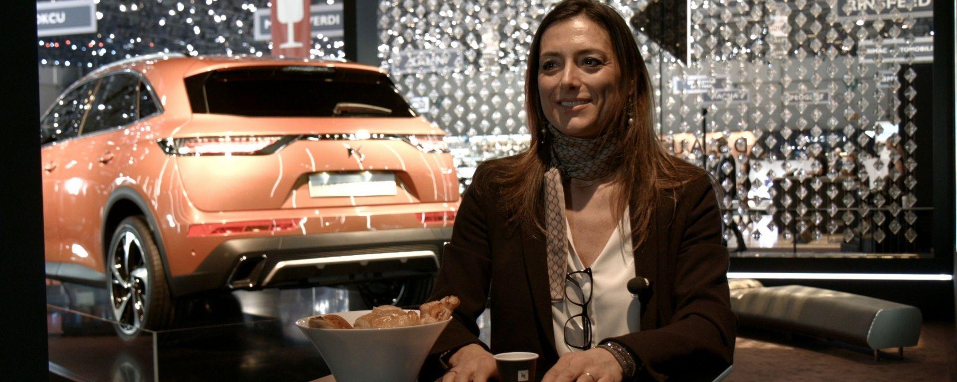 DS7 Crossback, Salone di Ginevra, Elena Fumagalli, Responsabile Comunicazione DS Italia