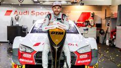 DTM 2019: René Rast (Audi Sport) festeggia il titolo di campione