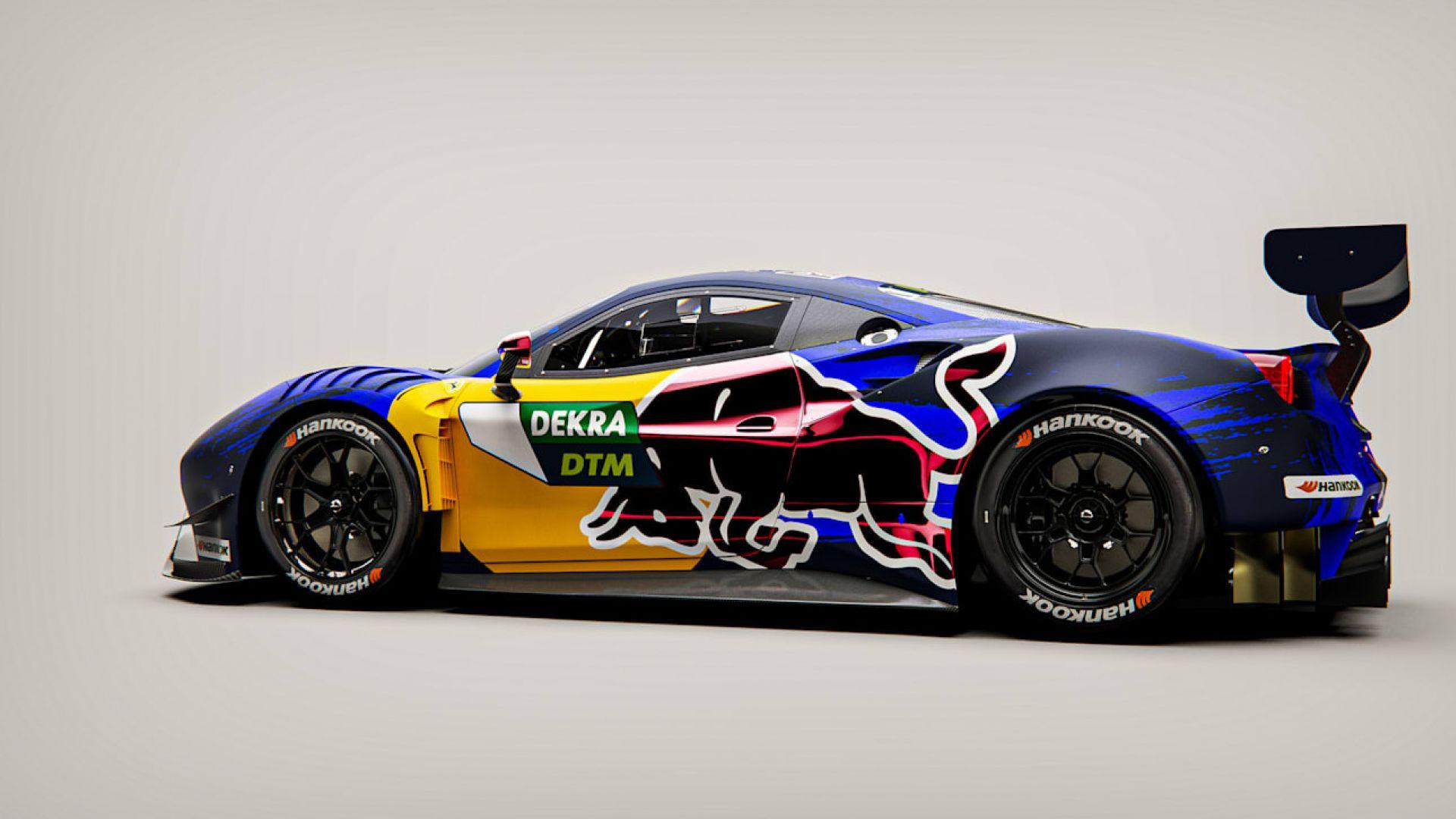Ecco come sarà la Red Bull-Ferrari che correrà nel DTM ...