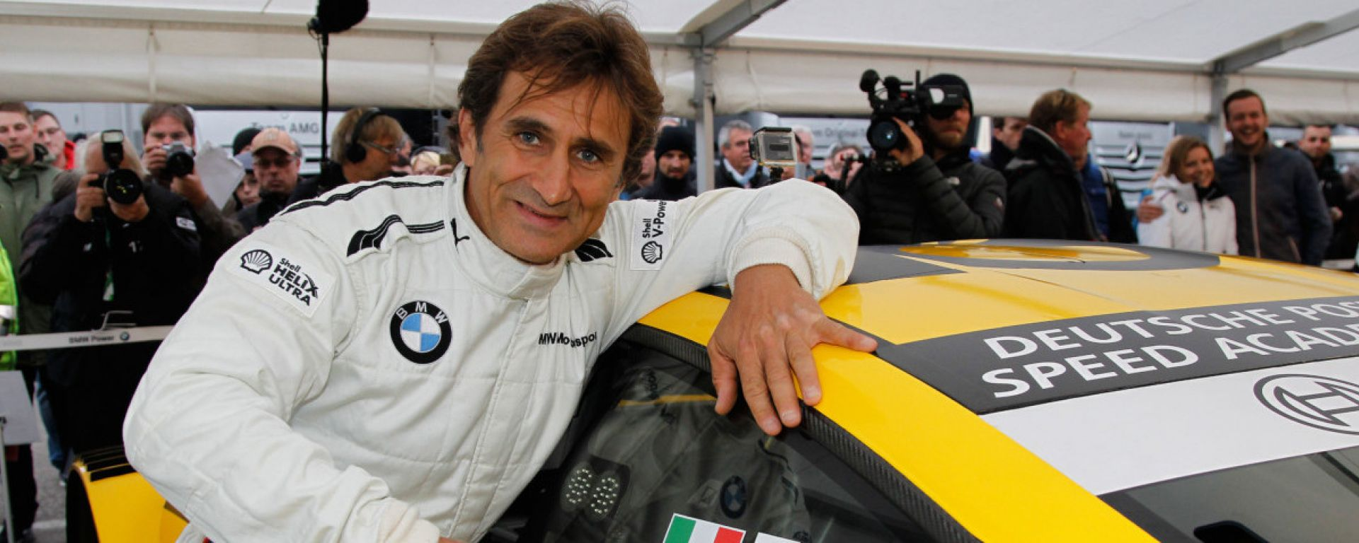 DTM, Alez Zanardi con la BMW a Misano nel 2018