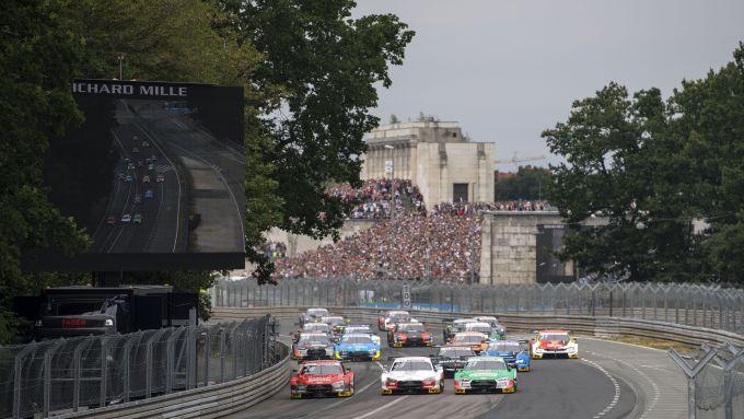 DTM, la partenza della gara 2019 al Norisring di Norimberga