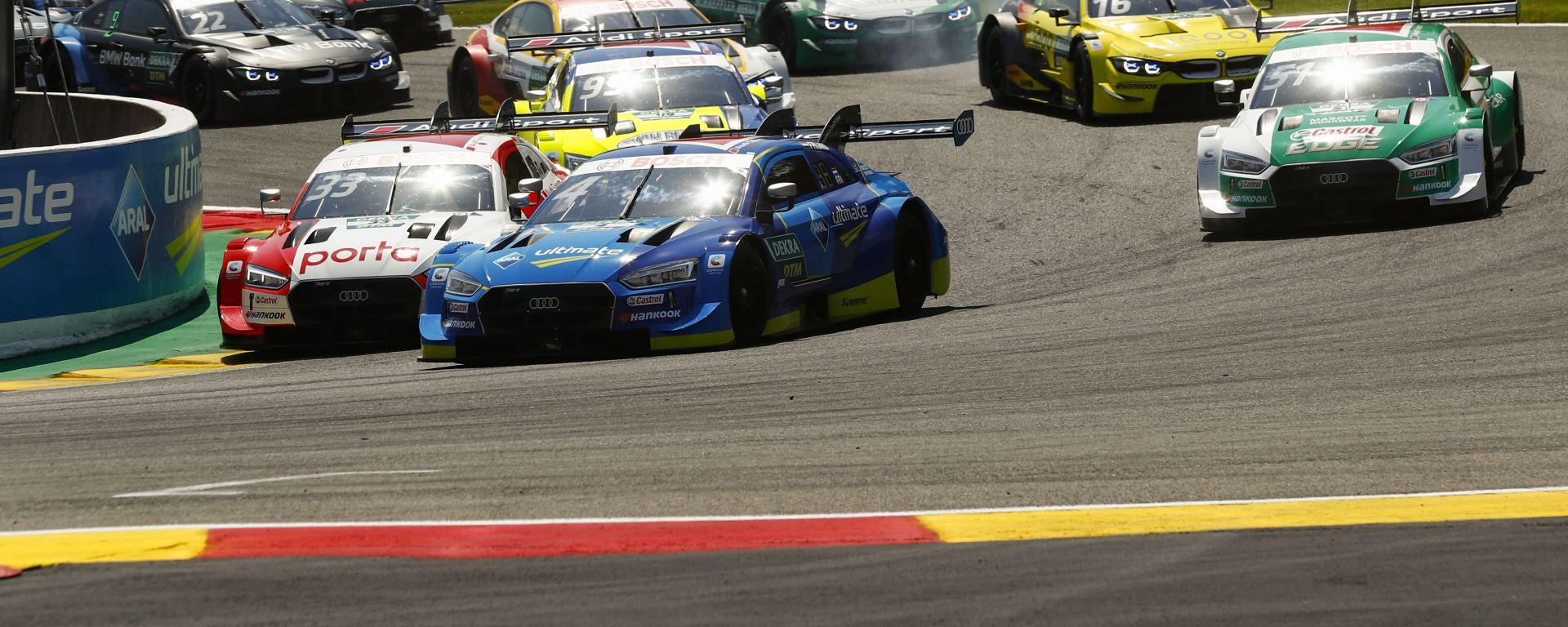 DTM, la partenza della gara 2020 a Spa-Francorchamps