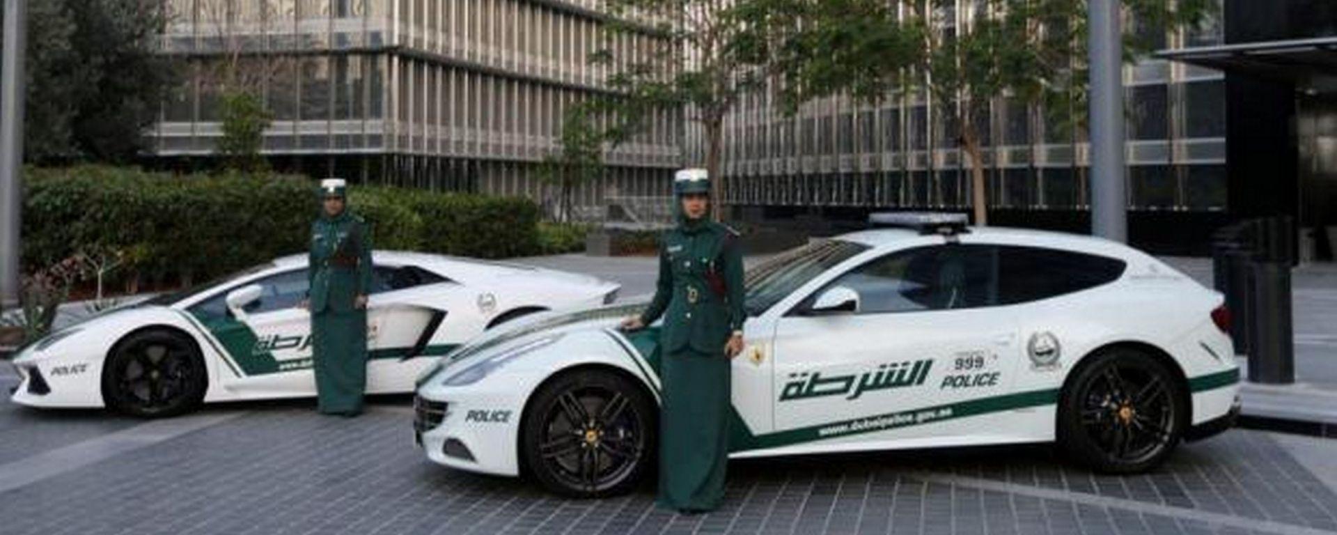 Dubai: la storia del parco auto della polizia più cool al mondo