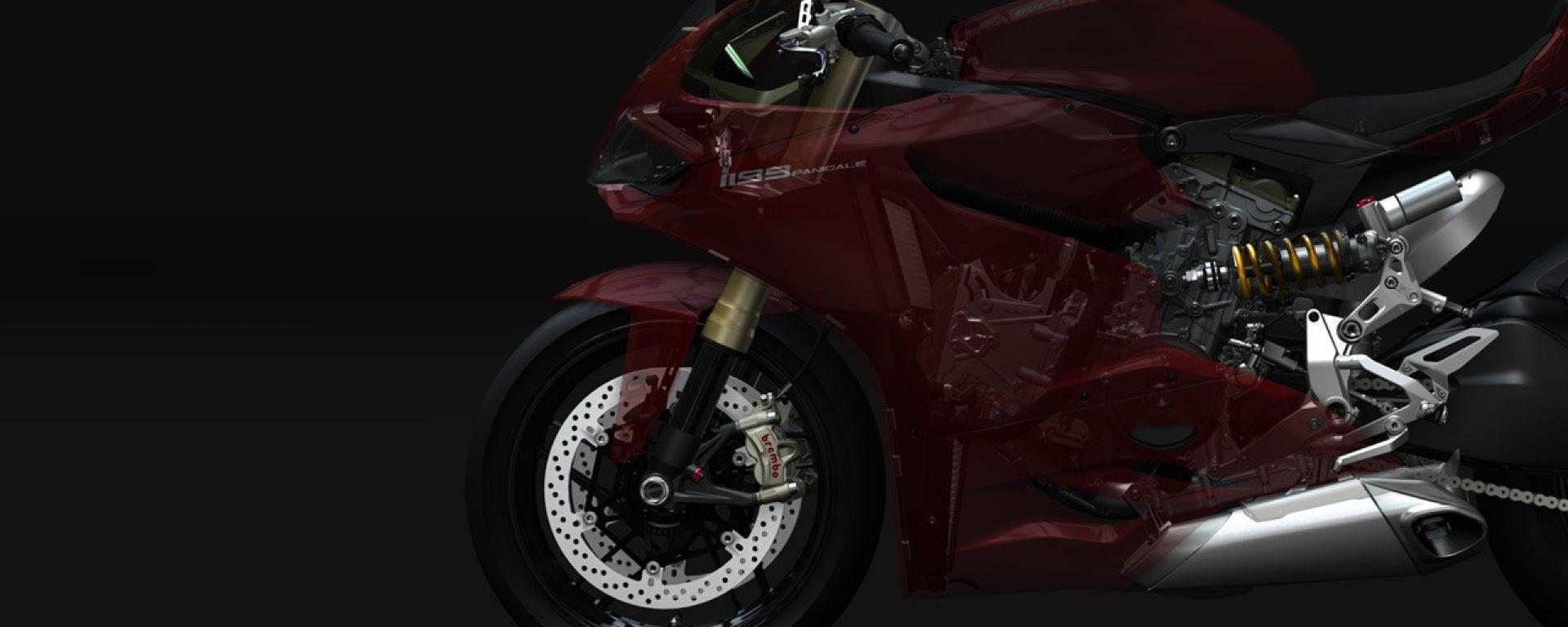 La Ducati 1199 Panigale in 60 nuove immagini