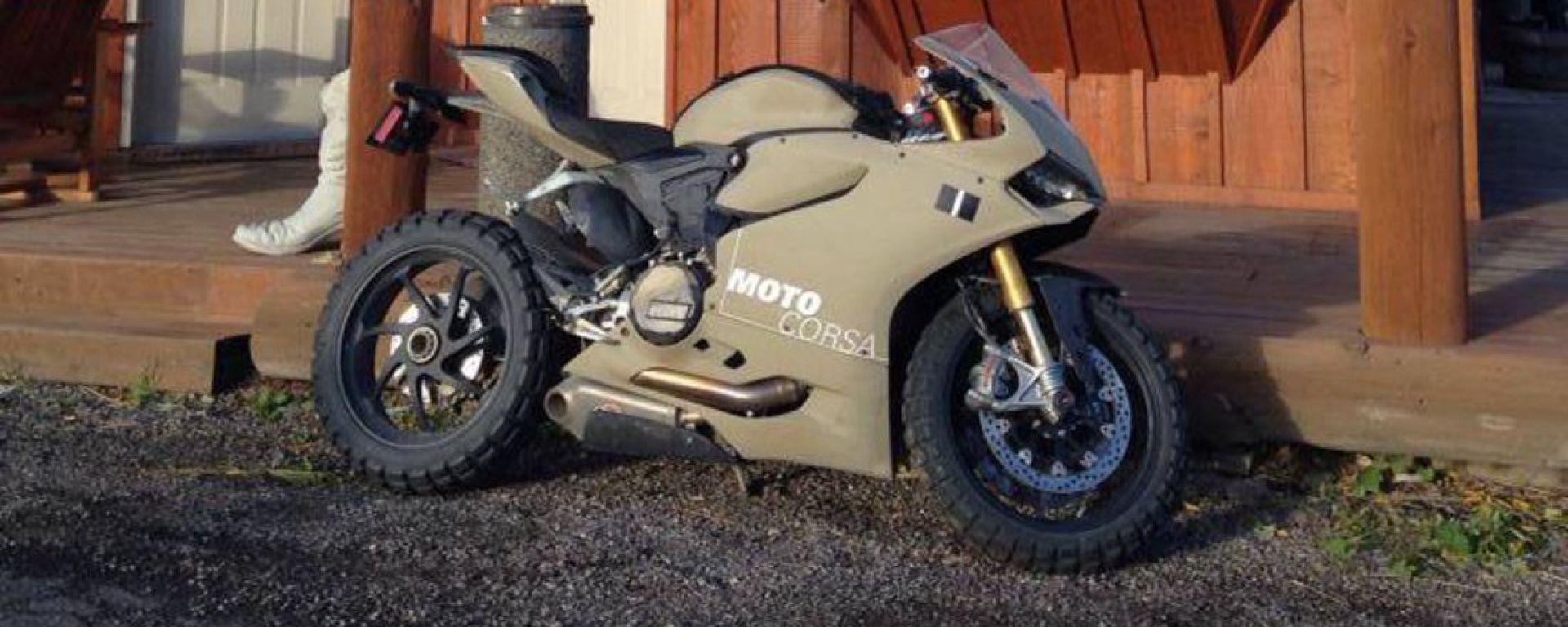 Ducati 1199 Terracorsa: la Panigale da off-road