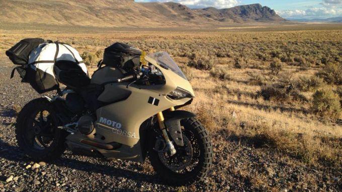 Ducati 1199 Terracorsa: la sportiva col tassello