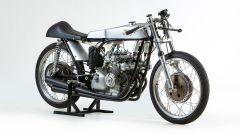 Ducati 125cc del 1965: vista 3/4 anteriore destra