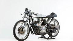 Ducati 125cc del 1965: vista 3/4 anteriore sinistra