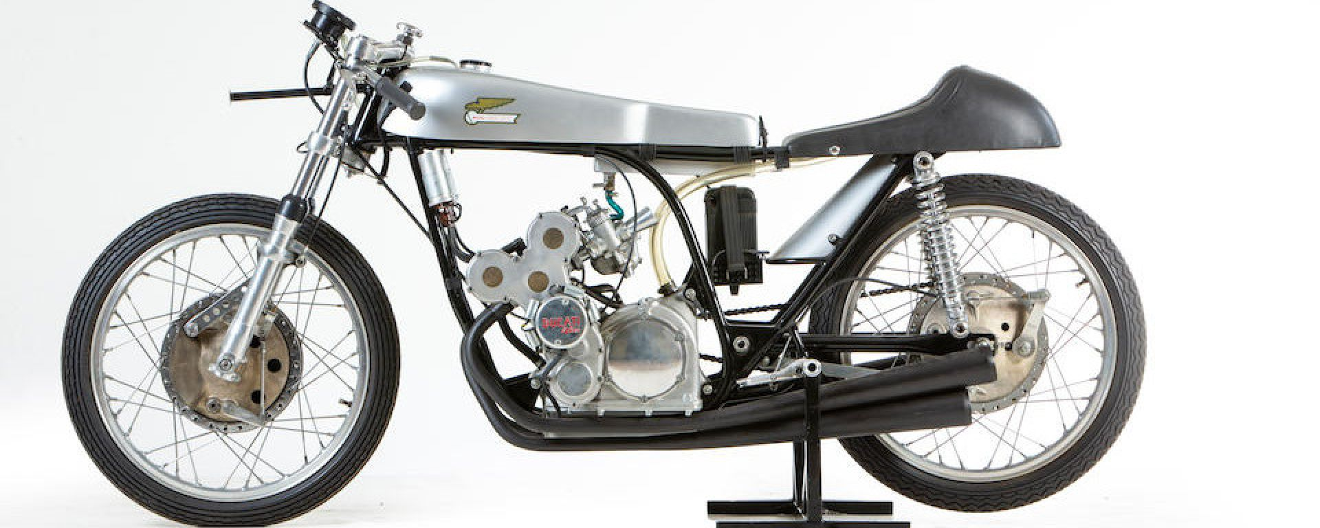 Ducati 125cc del 1965: vista laterale destra