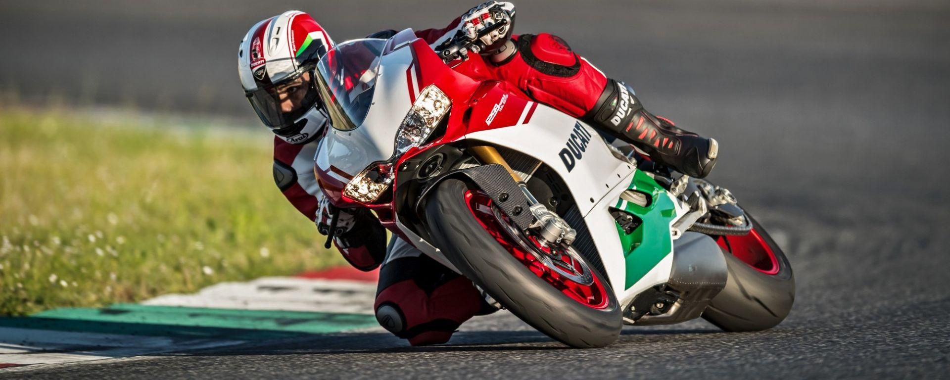 Ducati 1299 Panigale R Final Edition: vista 3/4 anteriore