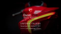 Ducati World Première 2018: le novità Ducati a Eicma 2017