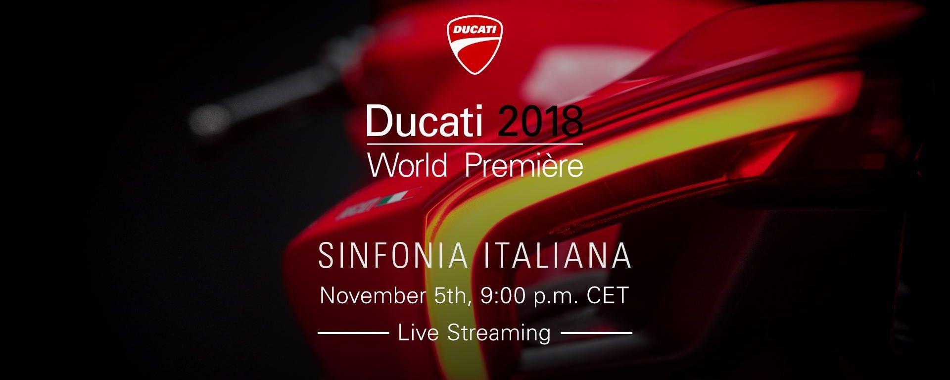 Ducati 2018 World Première - Eicma 2018