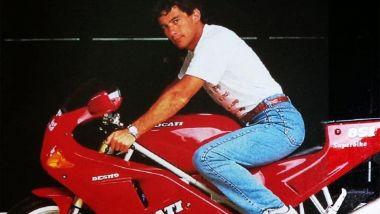 Ducati 851 e il campionissimo di F1 Ayrton Senna