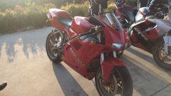 Ducati 916, vista laterale