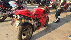 Ducati 916, vista posteriore