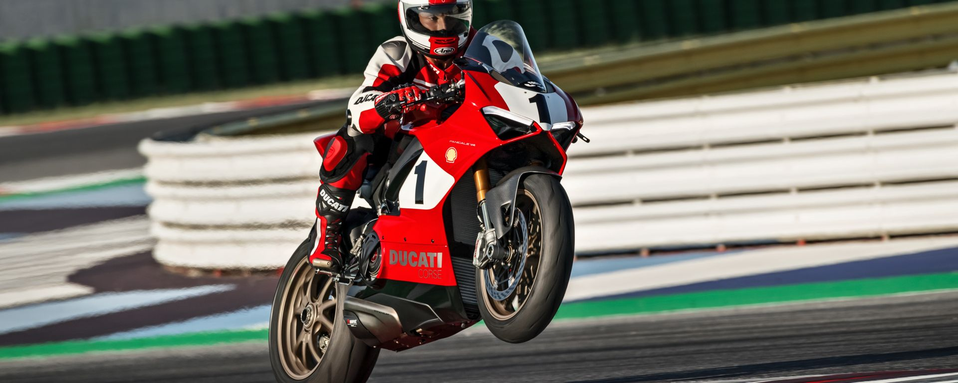 Ducati: all'asta la Panigale V4 25°Anniversario 916