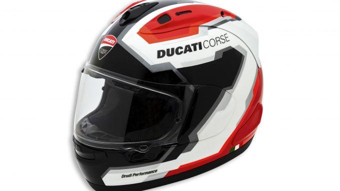 Ducati Apparel 2021: il casco racing DC V5