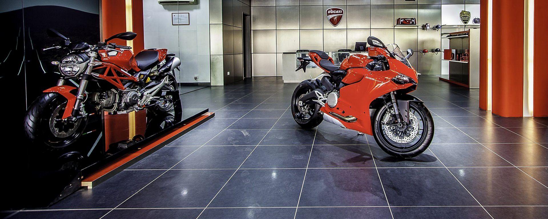 Ducati apre in India