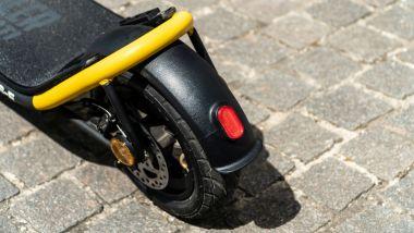 Ducati City Cross-E Black & Yellow: il posteriore