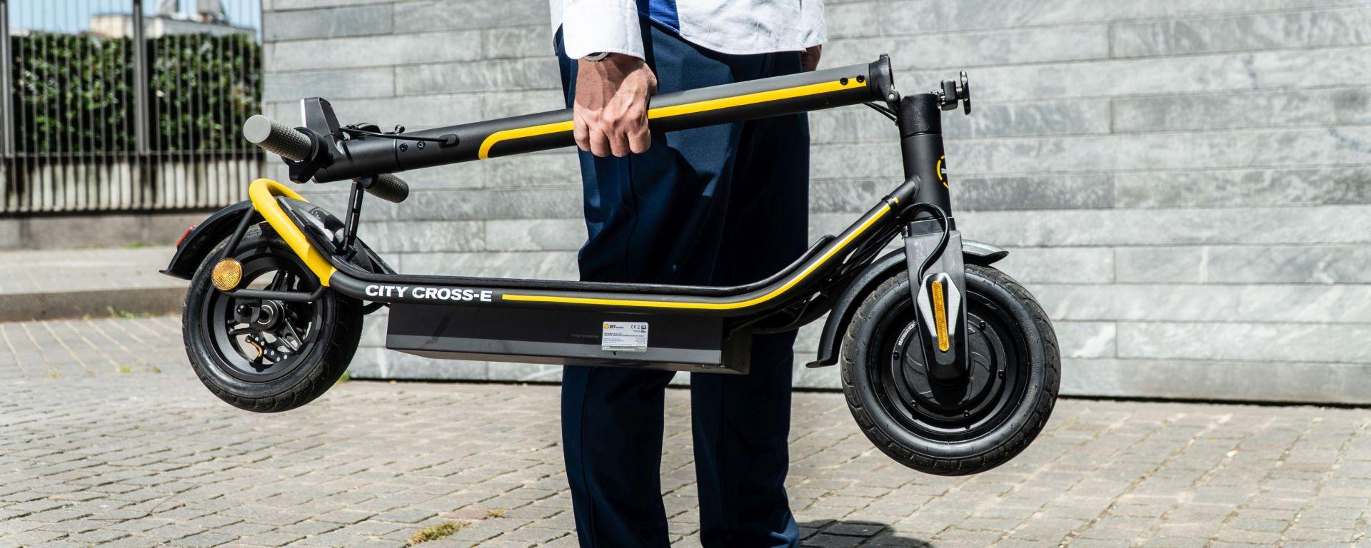 Ducati City Cross-E Black & Yellow: la prova