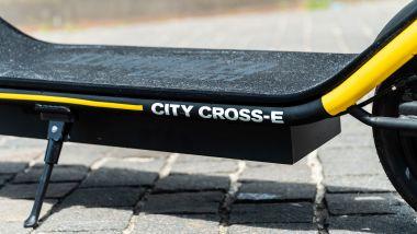 Ducati City Cross-E Black & Yellow: telaio nero opaco in alluminio