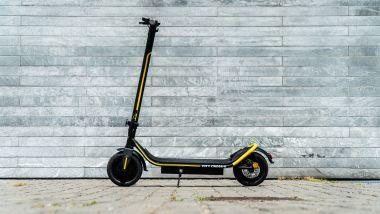 Ducati City Cross-E Black & Yellow: visuale laterale