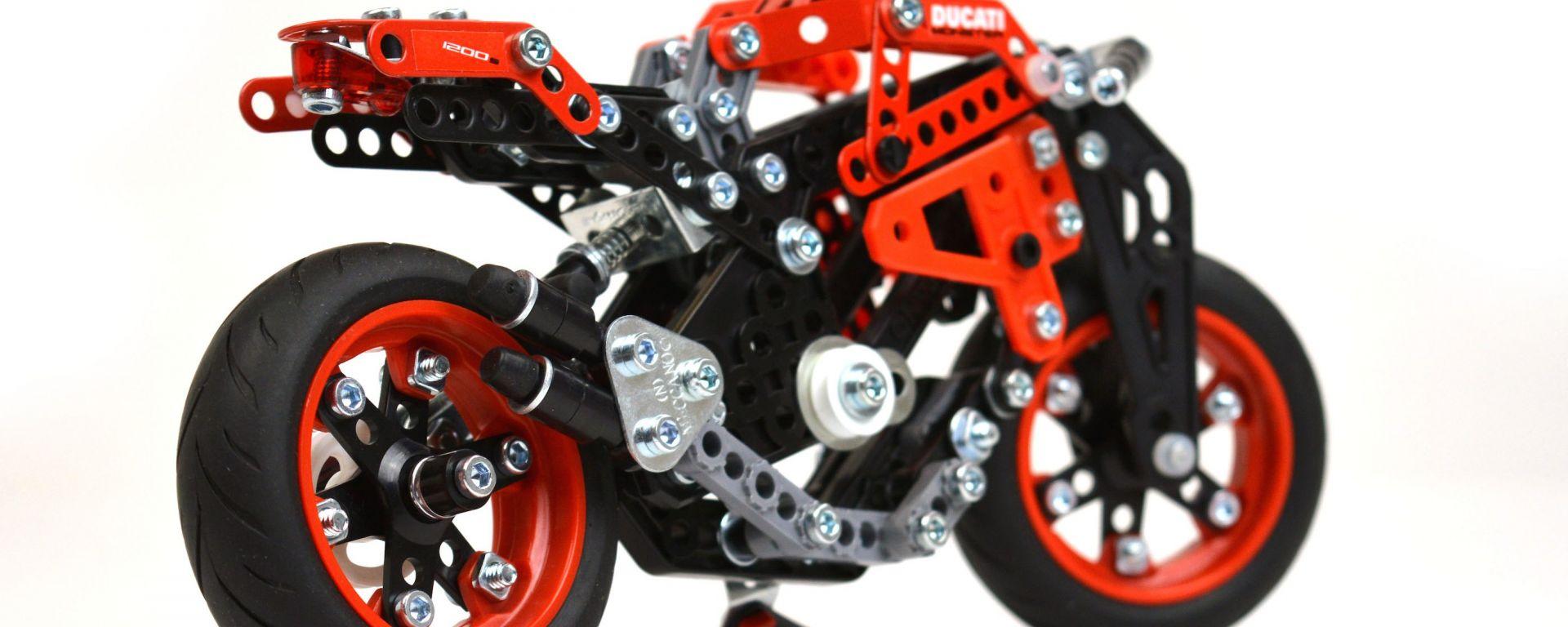 Ducati: da adesso te le costruisci in Meccano