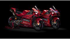 Ducati toglie i veli alla Desmosedici GP21 di Miller e Bagnaia