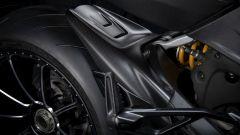Ducati Diavel 1260: il parafango posteriore in carbonio