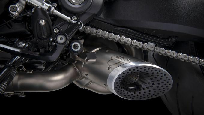 Ducati Diavel 1260: lo scarico completo