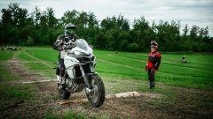 Ducati DRE Enduro 2017, la prova dei tronchi
