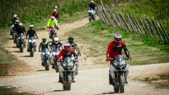 Ducati DRE Enduro e Multistrada 1200: a scuola di offroad - Immagine: 13