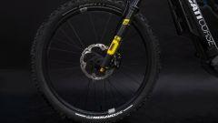 Ducati e-MTB 2021: la forcella anteriore della TK-01RR