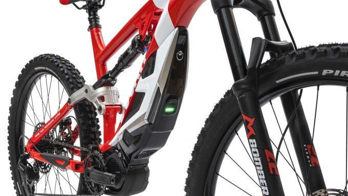 Ducati e-MTB 2021: motore e batteria della MIG-S