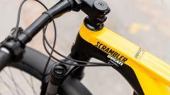 Ducati e-Scrambler: il telaio in alluminio