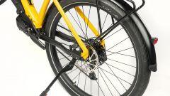 Ducati E-Scrambler: particolare del cavalletto