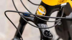 Ducati e-Scrambler: particolare della forcella