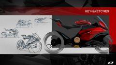 Ducati elettrica: il concept Ducati Zero di Suraj Tiwari, il primo bozzetto