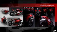 Ducati elettrica: il concept Ducati Zero di Suraj Tiwari, lo sviluppo del design