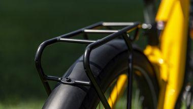 Ducati eScrambler: il robusto portapacchi