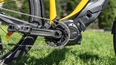 Ducati eScrambler: potente il motore Shimano Steps E7000