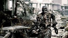 Ducati Hypermotard 2009 Terminator Salvation: una scena del film