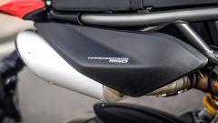 Ducati Hypermotard 950 2019: dettaglio del fianchetto