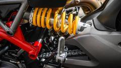 Ducati Hypermotard 950 2019: dettaglio del mono ammortizzatore