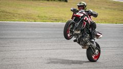 Ducati Hypermotard 950 RVE: il motore è sempre il bicilindrico da 114 CV