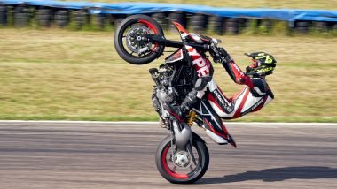 Ducati Hypermotard 950 RVE: sul fronte divertimento, nulla è cambiato