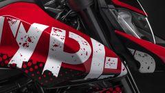 Ducati Hypermotard 950 RVE: un particolare del fianco