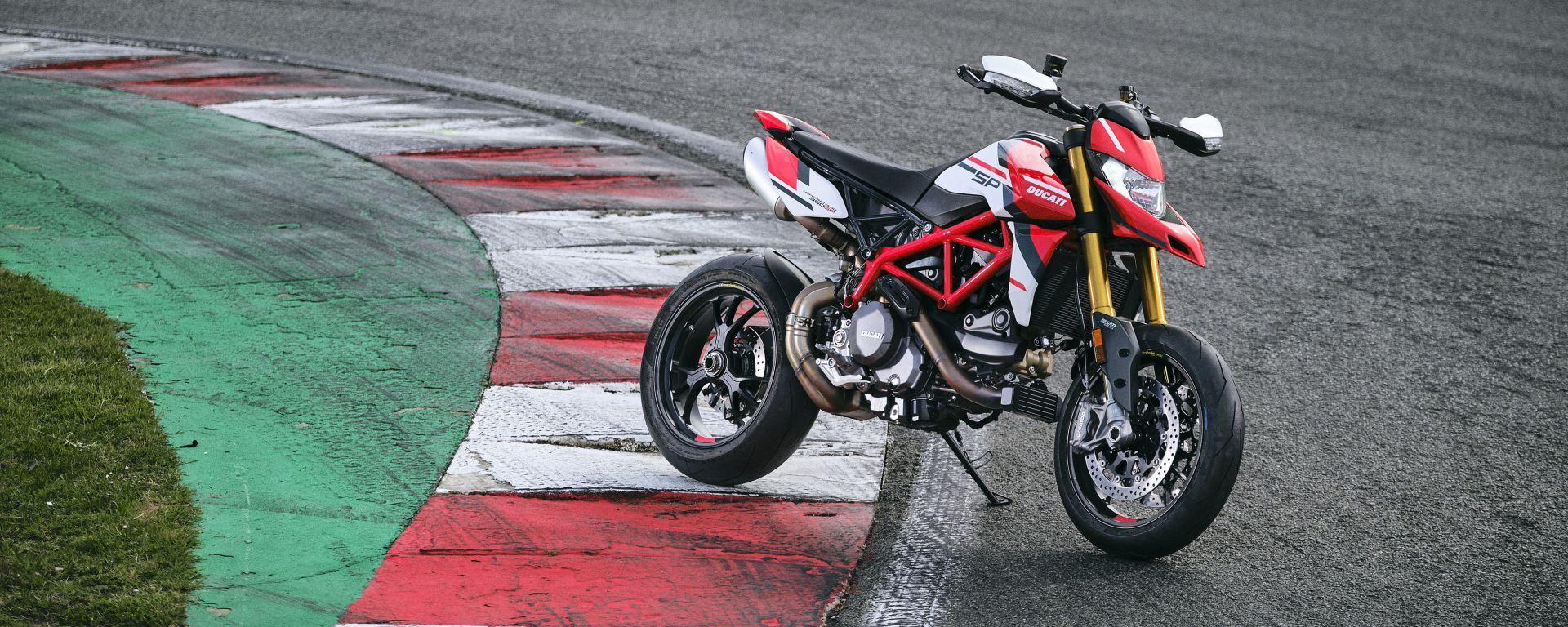 Ducati Hypermotard 950 SP: nuova colorazione