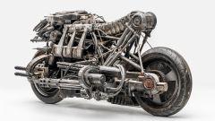 Ducati Hypermotard Terminator Salvation 2009: la vista posteriore