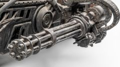 Ducati Hypermotard Terminator Salvation 2009: le armi viste da vicino